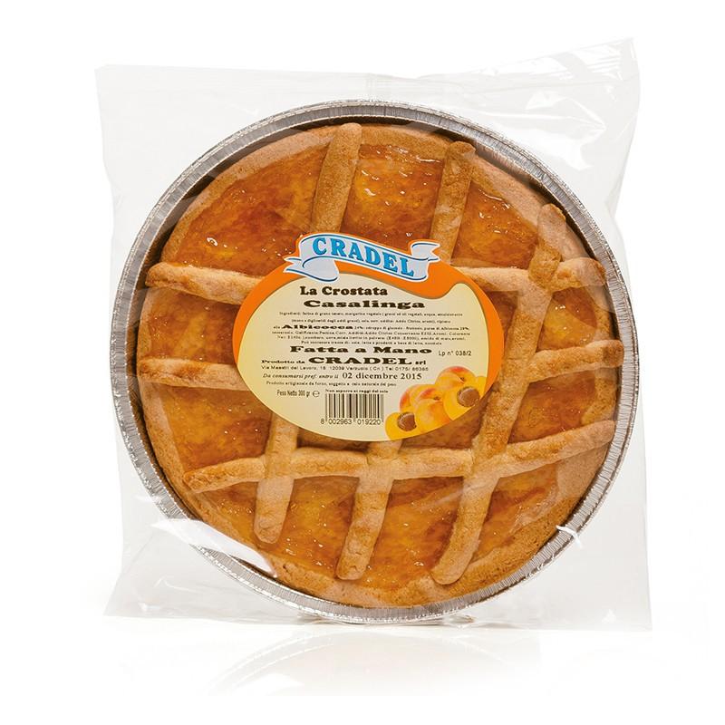 Crostata casalinga all'Albicocca Cradel
