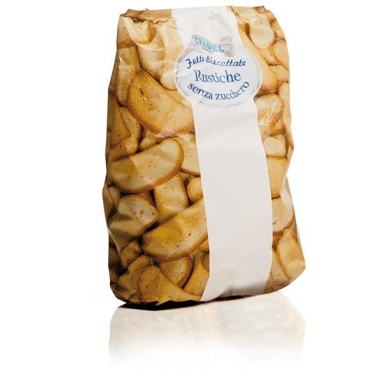 Fette Biscottate Senza Zucchero Cradel