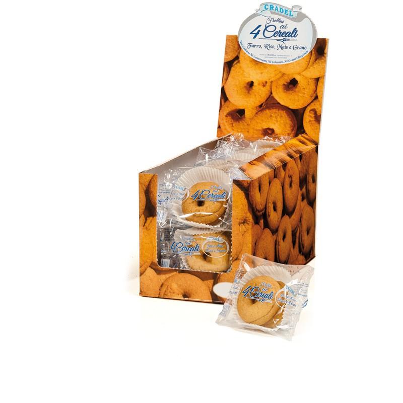 Espositore Frollini 4 Cereali Cradel