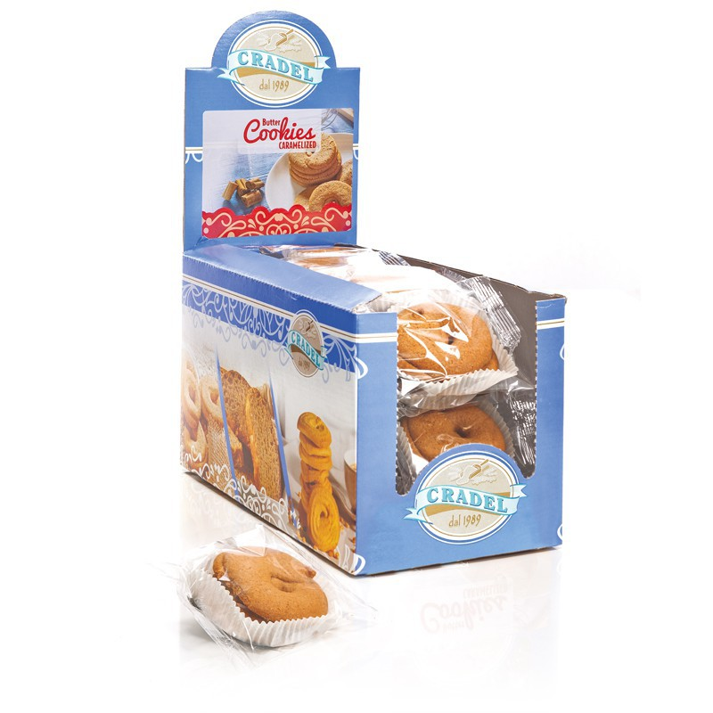 Espositore Butter Cookies Caramelized Cradel